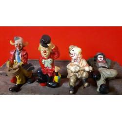Clowntjes 18 cm hoog € 5,- per stuk of 4 voor € 15,-