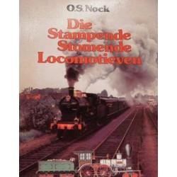 Die stampende stomende locomotieven.