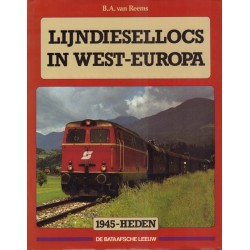 Lijndiesellocs in West-Europa.
