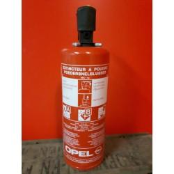 Brandblusser 1 kg poeder Geschikt voor A-B-C branden Houdbaarheidsdatum tot 2019