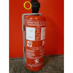 Brandblusser 1 kg poeder Geschikt voor B-C branden Houdbaarheidsdatum tot 2020