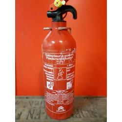 Brandblusser 1 kg poeder Geschikt voor B-C branden Houdbaarheidsdatum tot 2019