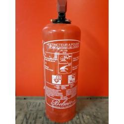 Brandblusser 1 kg poeder Geschikt voor B-C branden Houdbaarheidsdatum tot 2021