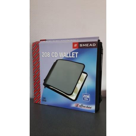 CD - DVD Wallet 208 stuks Smead