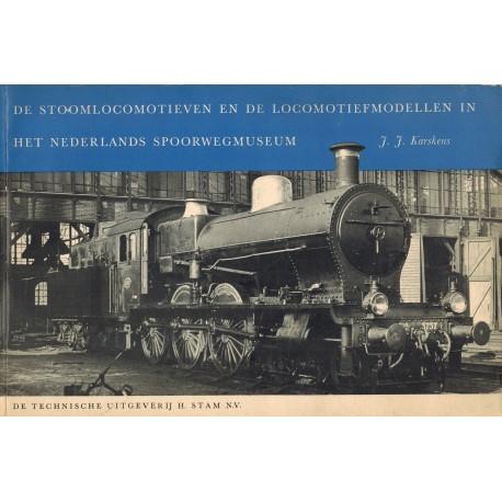 De stoomlocomotieven en de locomotiefmodellen in het Nederlands spoorwegmuseum