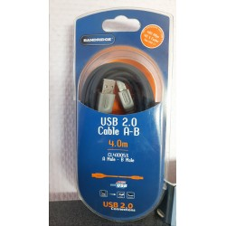 USB 2.0 A-B kabel Bandridge