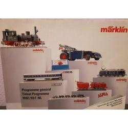 Marklin H0 Z en I catalogus Jaarboek 1992/1993 Nederlands-Frans