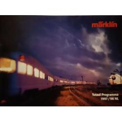 Marklin H0 Z en I catalogus Jaarboek 1997/1998 Nederlands