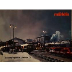 Marklin H0 Z en I catalogus Jaarboek 1998/99 Duits