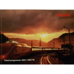 Marklin H0 Z en I catalogus Jaarboek 2002/2003 Nederlands