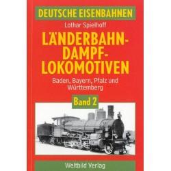 Deutsche eisenbahnen Länderbahndampf lokomotiven