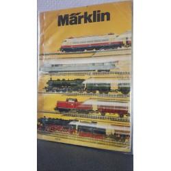 Marklin H0 catalogus Jaarboek 1975 Nederlands