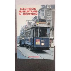 Electrische museumtrams in Amsterdam