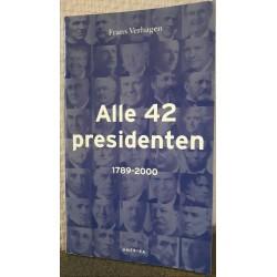 Alle 42 Presidenten 1789-2000