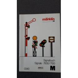 Märklin folders - flyers - informatie Signalbuch M 0340