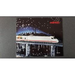 Märklin folders - flyers - informatie Allen instappen alstublieft 1985/86 NL