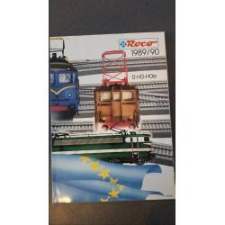 Roco folders - flyers - informatie - Catalogus O-H0-Hoe 1989/90