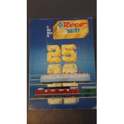 Roco folders - flyers - informatie - Catalogus O-H0-Hoe-N '86/87