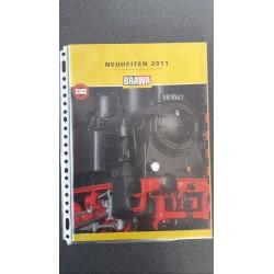 Brawa folders - flyers - informatie - Neuheiten 2011