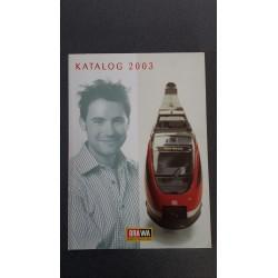 Brawa folders - flyers - informatie - Katalog 2003
