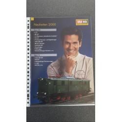 Brawa folders - flyers - informatie - Neuheiten 2000