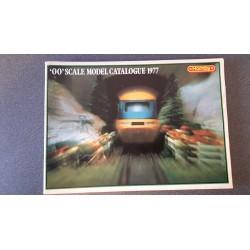 """Hornby folders - flyers - informatie - """"OO"""" Scale Model Catalogue 1977"""