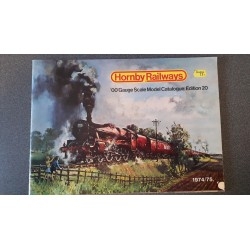 Hornby folders - flyers - informatie - 'OO' Gauge Scale Model Catalogue: Edition 20
