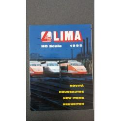 Lima folders - flyers - informatie - Nieuwigheden H0 Scale 1995