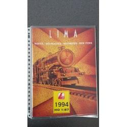 Lima folders - flyers - informatie - Nieuwigheden H0 1:87 1994