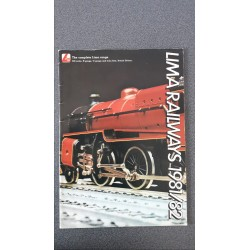 Lima folders - flyers - informatie - 1981/82 The complete Lima Range 00 scale, N gauge, 0 gauge and train Sets, Britisch Edition
