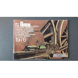 Lima folders - flyers - informatie - Algemene katalogus of train models 1976