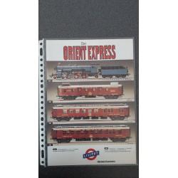 Liliput folders - flyers - informatie - Flyer Der Orient Express