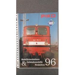 Piko folders - flyers - informatie - Neuheiten '96 Modelleisenbahnen & Gebäudemodelle