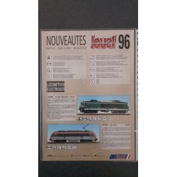 Jouef folders - flyers - informatie - Flyer 96