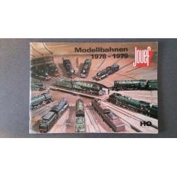 Jouef folders - flyers - informatie - Katalogus 1978 - 1979