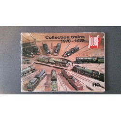 Jouef folders - flyers - informatie - Collection Trains 1978 - 1979
