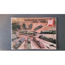 Jouef folders - flyers - informatie - Collection Trains 1978 - 1979
