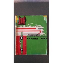 Jouef folders - flyers - informatie - Catalogue 1965