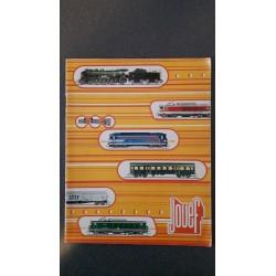 Jouef folders - flyers - informatie - Catalogue 1974