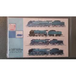 Jouef folders - flyers - informatie - Catalogue 1952