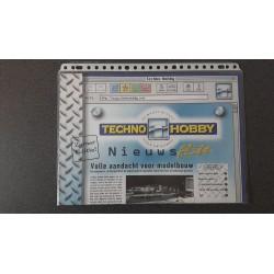 Techno Hobby folders - flyers - informatie - NieuwFlits zomer editie 1999