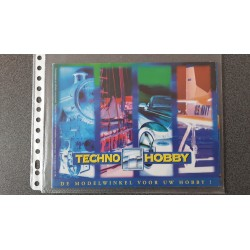 Techno Hobby folders - flyers - informatie - 1996