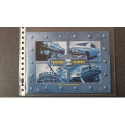 Techno Hobby folders - flyers - informatie - 2002