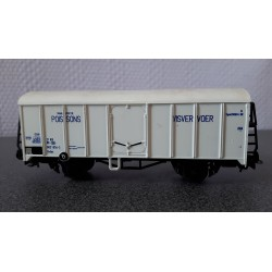 Liliput - Visvervoer koelwagen (B)