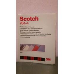 25 stuks Scotch 784-4 Omslagen voor inbind-mappen Beige