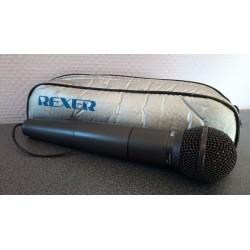 Microfoon Rexer Shure Cartridge SM58 Draadloze microfoon
