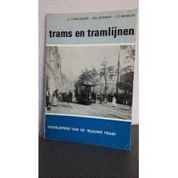 Trams en tramlijnen - Voorlopers van de 'Blauwe tram'