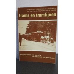 Trams en tramlijnen - Paardetrams in het centrum en het zuiden van Nederland