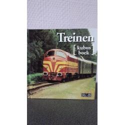 Treinen - Kubus boek