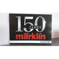 Marklin H0 Neuheiten 150 Jahre 2009 Duitstalig